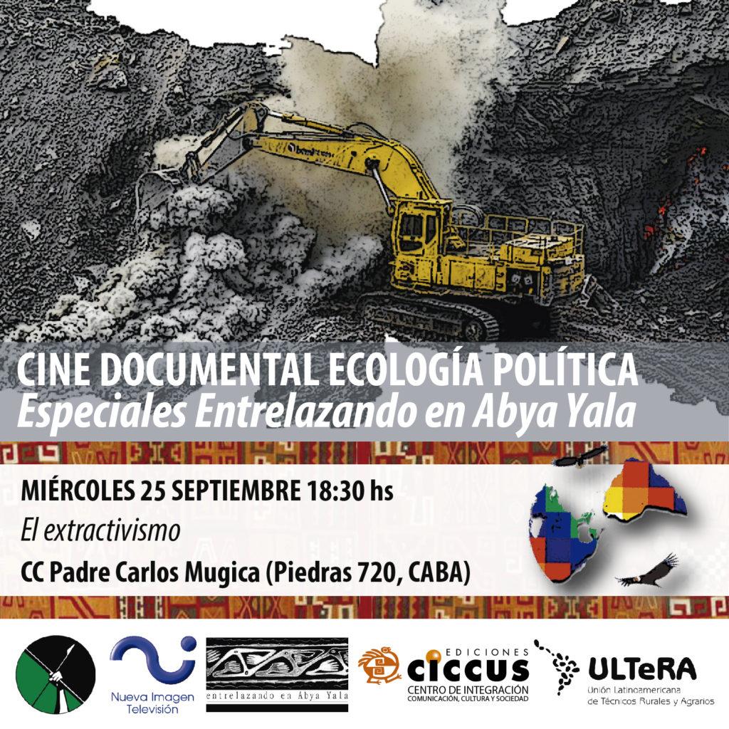 Documental sobre extractivismo