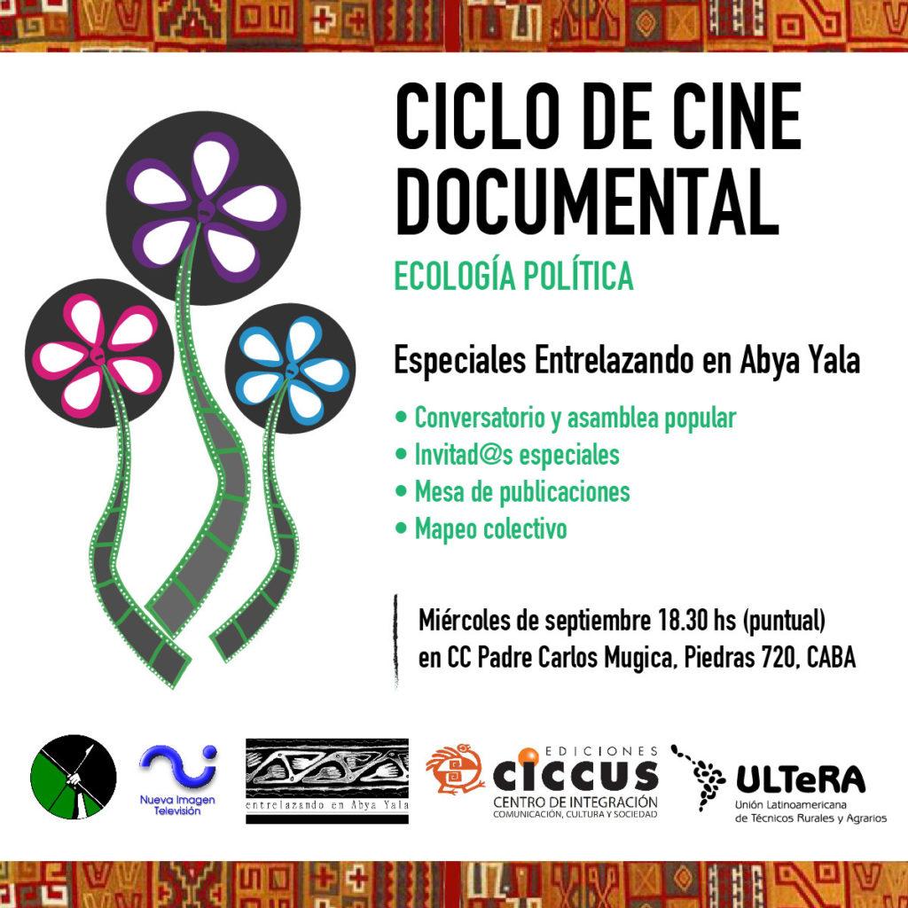 Ciclo de cine documental ecología política