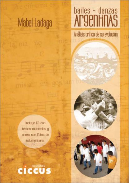 libro bailes danzas argentinas
