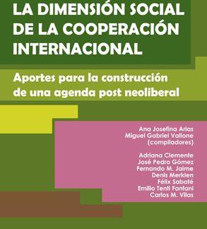 Libro Dimensión social de la cooperación internacional CICCUS