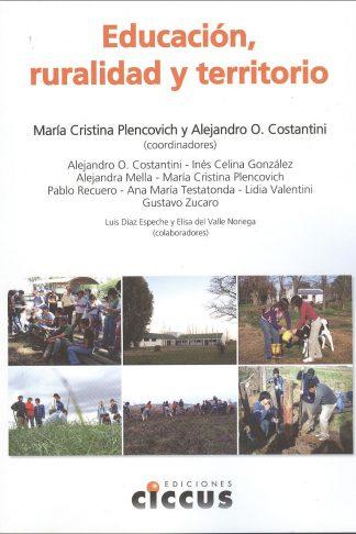 libro educación ruralidad territorio