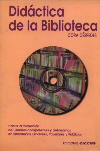 LIBRO Didáctica de la biblioteca EDICIONES CICCUS