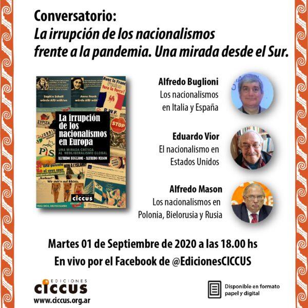CONVERSATORIO | La irrupción de los nacionalismos frente a la pandemia. Una mirada desde el Sur