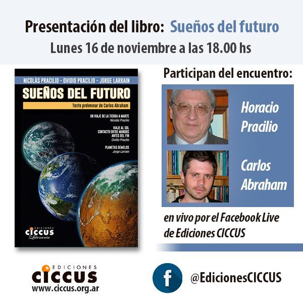 Presentación del libro Sueños del futuro