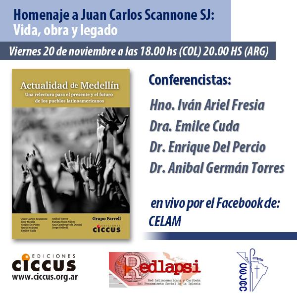 Homenaje Juan Carlos Scannone
