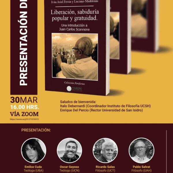 Presentación del libro   Liberación, sabiduría popular y gratuidad