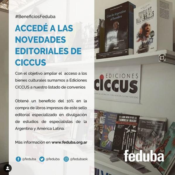 Convenio Beneficios FEDUBA