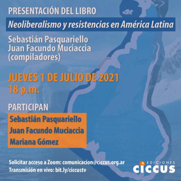 Presentación del libro «Neoliberalismo y resistencias en América Latina»