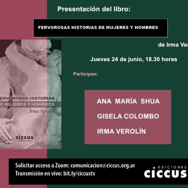 Presentación del libro «Fervorosas historias de mujeres y hombres»