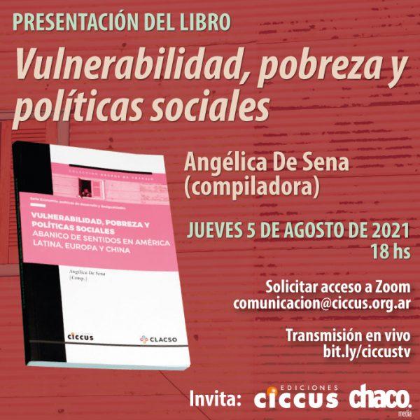 Presentación del libro «Vulnerabilidad, pobreza y políticas sociales»