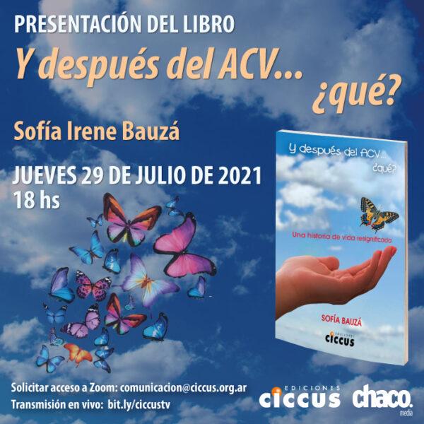 Presentación del libro «Y después del ACV… ¿Qué?»