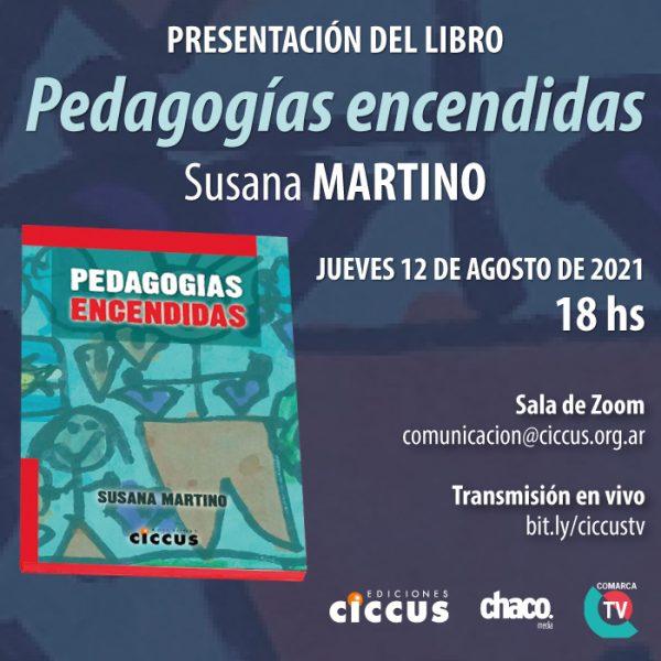 Presentación del libro «Pedagogías encendidas»