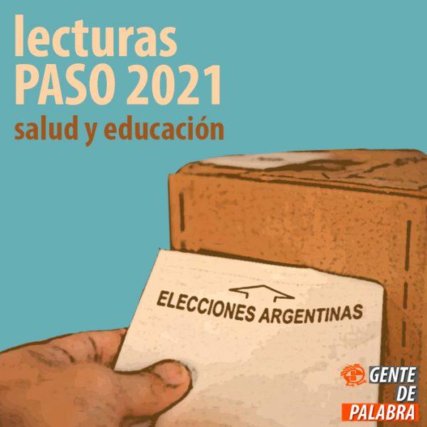 Lecturas PASO 2021 (mesa de salud y educación)