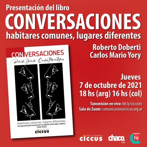 Presentación del libro «Conversaciones»