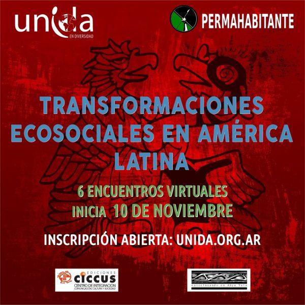 CURSO «TRANSORMACIONES ECOSOCIALES EN AMÉRICA LATINA»
